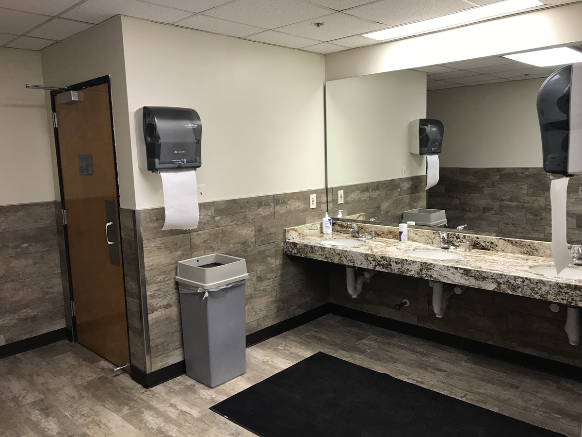 business bathroom
