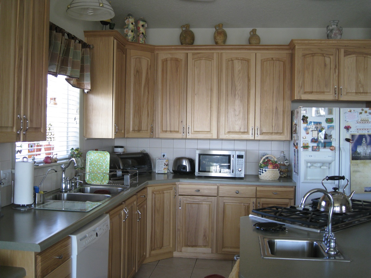 kitchen before remodel