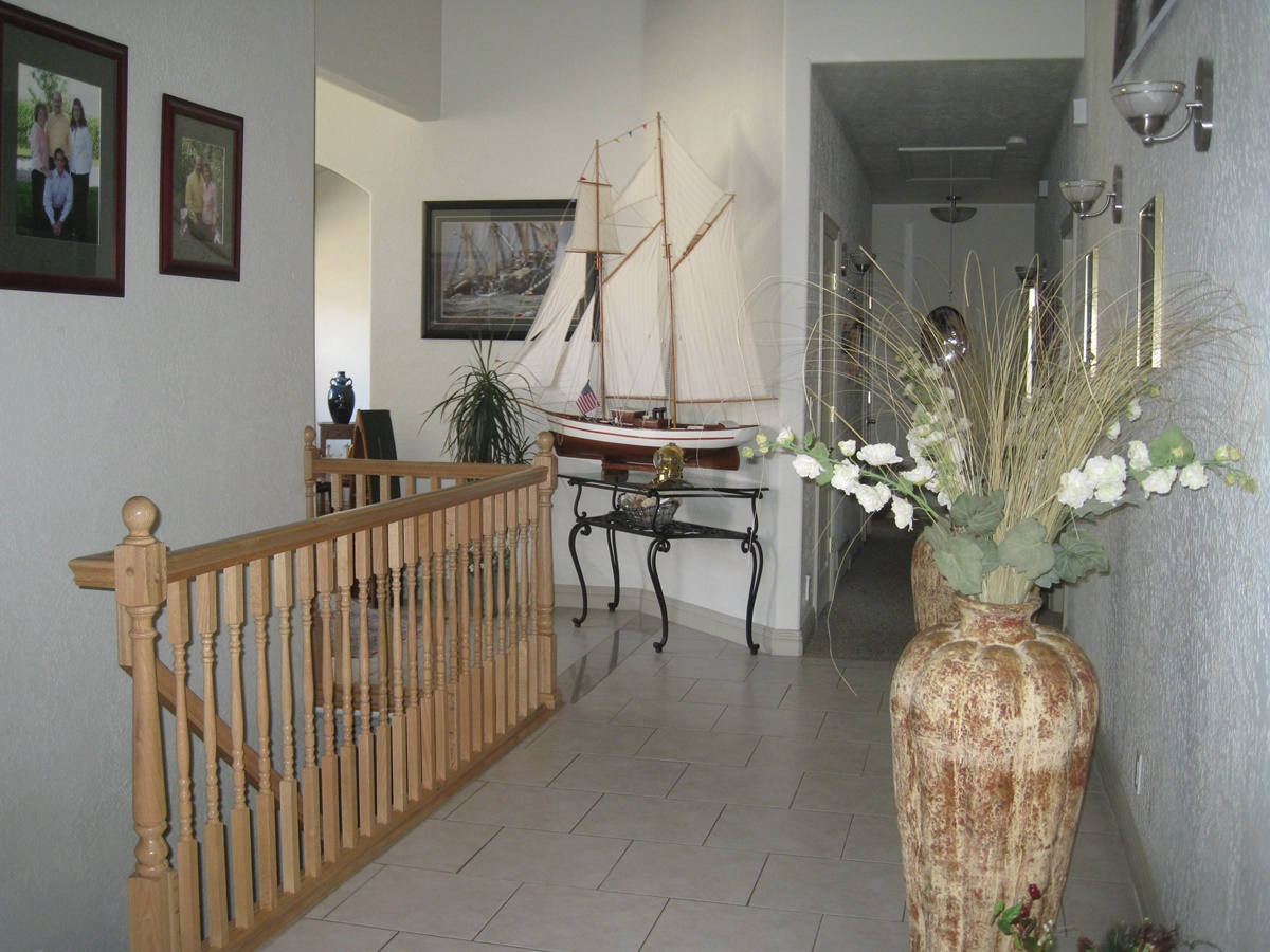inside of new home